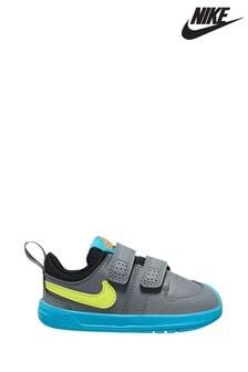 נעלי ספורט לפעוטות של Nike מדגם Pico בצבעי אפור/כחול