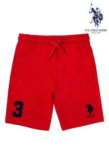 U.S. Polo Assn. Red Player 3 Sweat Shorts