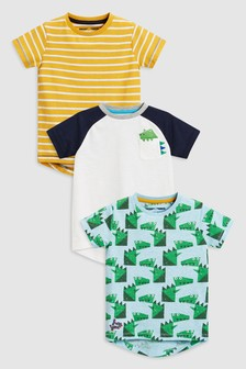 Dino T-Shirts Three Pack (3mths-6yrs)