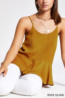 River Island Yellow Cami