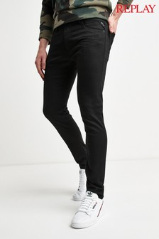 ג'ינס סקיני בשטיפה כהה Replay® Jondrill