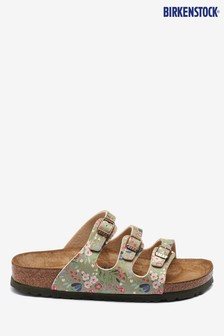 Birkenstock® Khaki Florida Meadow Flowers Sandals