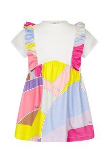 Emilio Pucci Baby Girls Purple Cotton Dress