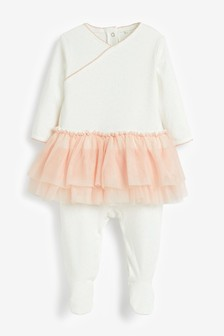 Tutu Sleepsuit (0-2yrs)