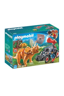 Playmobil® 9434 Quad With Triceratops
