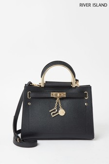 River Island Black Medium Lady Bag