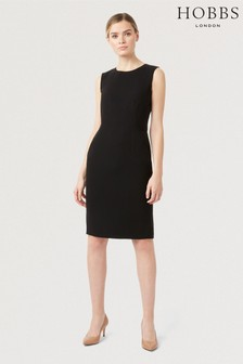 Hobbs Black Petite Alva Dress