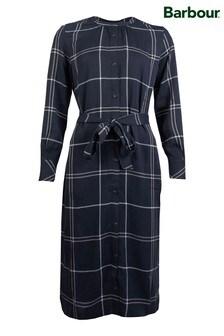 Barbour® Black Tartan Check Perthshire Shirt Dress