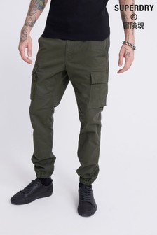Superdry Olive Cargo Trousers