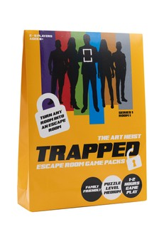 Trapped Escape Room Game Pack The Art Heist