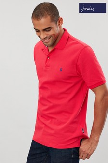 Joules Pink Woody Classic Fit Poloshirt