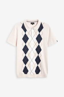 Premium Pattern Polo