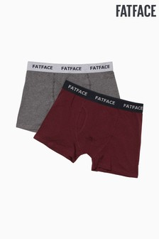 FatFace Red Spot Boxers 2 Pack