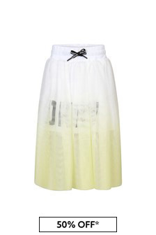 DKNY Yellow Skirt