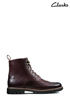 Clarks Red Batcombe Lord Boots