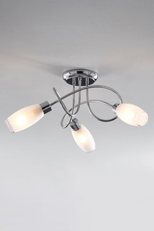 Capri 3 Light Flush Fitting