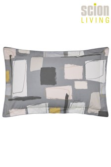 Scion Composition Abstract Geo Cotton Pillowcase