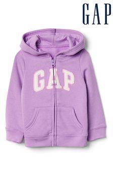Gap Purple Logo Hoody