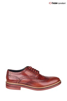 Base London® Tan Woburn Hi-Shine Shoes