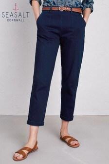Seasalt Petite Indigo Waterdance Trousers