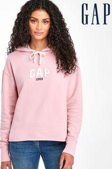 Gap Pink Small Logo Hoody