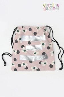 Caroline Gardner Floral Spot Drawstring Bag