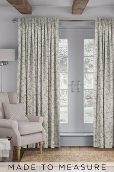 Neisha Linen Natural Made To Measure Curtains