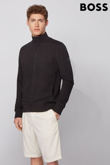 BOSS Black Zkybox Zip Through Jersey Jacket