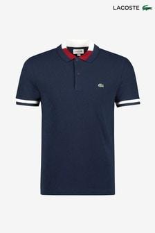 Рубашка поло с контрастной окантовкой воротника Lacoste®