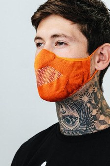 Hype. Adult Orange Knit Face Coverings Three Pack