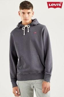 Levi's® Grey Chest Hit Logo Hoodie