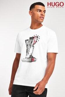 HUGO White Dneaker T-Shirt