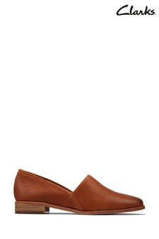 Clarks Tan Leather Pure Easy Shoes