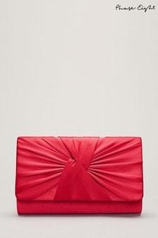 Phase Eight Pink Gemma Clutch Bag