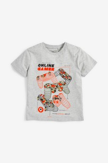 Camo Controller T-Shirt (3-16yrs)