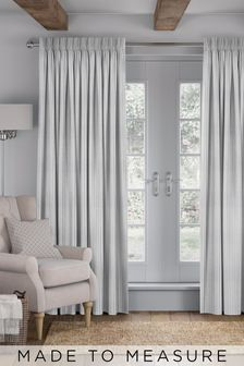 Nestor Dove Grey Made To Measure Curtains