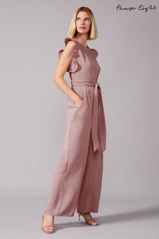 Phase Eight Pink Victoriana Sparkle Jumpsuit