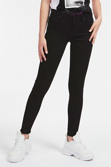 Guess Black Annette Iconic Skinny Jeans