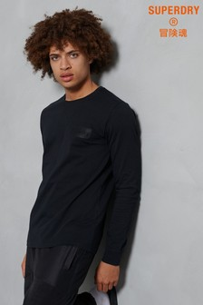 Superdry Core Logo Tonal Long Sleeved Top
