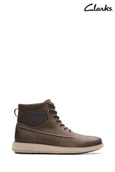 Clarks Brown Un Larvik Peak Boots