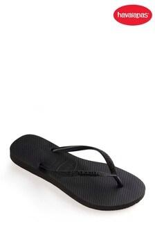 Havaianas® Black Slim Glitter Flip Flop