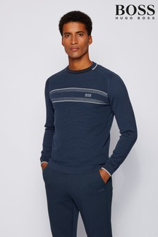 BOSS Blue Raldon Knit Jumper