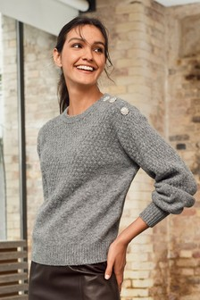 Womens Wool Jumpers | Plain & Stripe Woollen Jumpers | Next UK