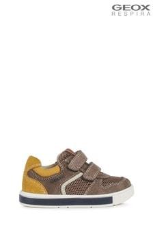 Szare chłopięcee buciki niemowlęce Geox Trottola