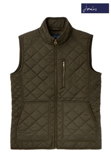 Joules Green Halesworth Quilted Gilet