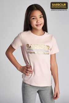 Barbour® International Pink T-Shirt