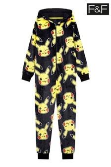F&F Black Pokémon™ Pikachu All-In-One
