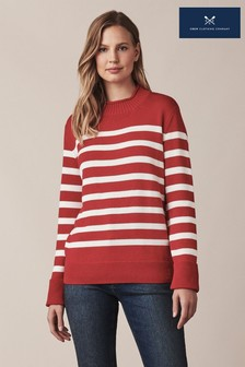 Crew Clothing Red Twickenham Jumper