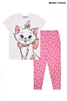Fabric Flavours White Disney™ Marie Pyjama Set
