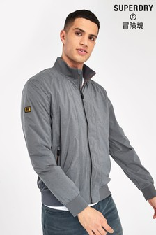 Superdry Grey Harrington Jacket